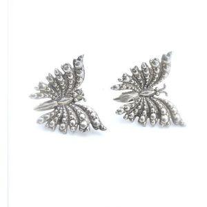 Sterling Silver Earrings Boho Antique Jewelry